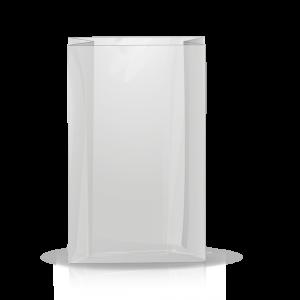 Recycling Seitenfaltenbeutel transparent